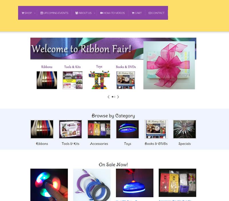 Ribbon Fair Ribbon Products