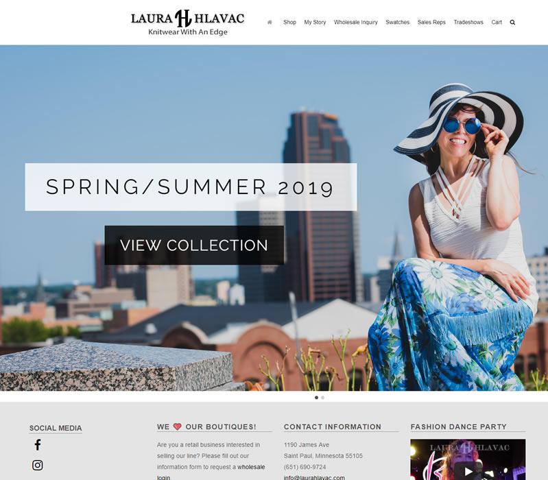 Laura Hlavac - Knitwear With an Edge
