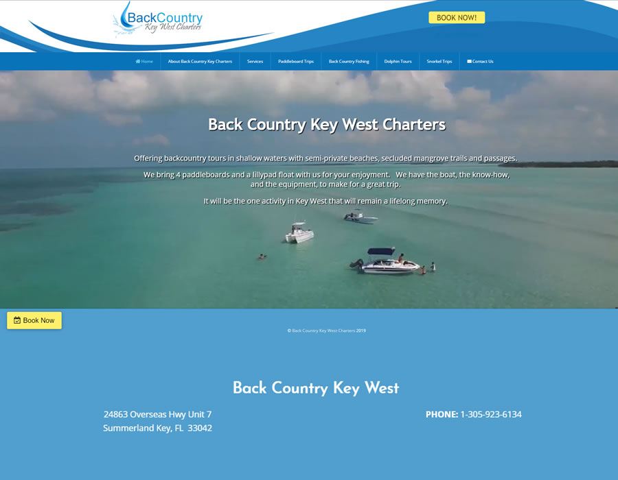 Back Country Key West Charters